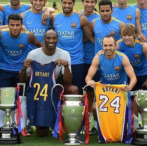 Kobe Bryant yang Begitu Lekat dengan Barcelona