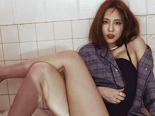 Fei 'miss A' Chic dan Seksi untuk Marie Claire Korea