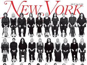 Lebih dari 30 Korban Pencabulan Bill Cosby Tampil di Sampul Majalah New York