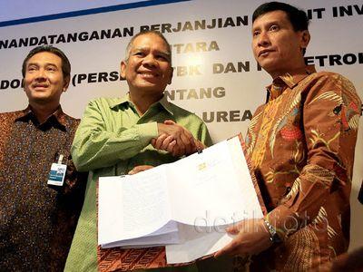 BNI Kasih Pupuk Indonesia Kredit Rp 3,2 Triliun