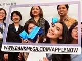 Penyerahan Hadiah Apply Online Kartu Kredit Bank Mega