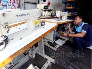 Rupiah Lemah, Harga Mesin Jahit Impor Terus Naik