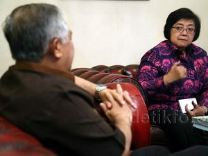 Siti Nurbaya dan Din Syamsuddin Bahas Perubahan Iklim