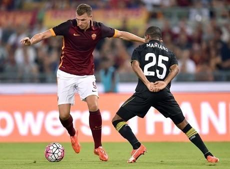 Dzeko & Salah Bersinar, Roma Kalahkan Sevilla 6-4