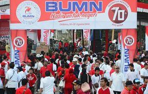 Bank Mandiri Pimpin 36 BUMN Rayakan HUT ke-70 RI di NTB