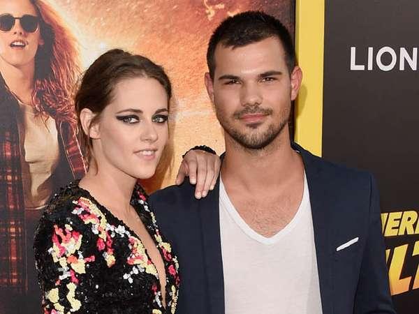 Kristen Stewart dan Taylor Lautner Reunian