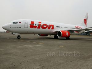 Pesawat Boeing 737 ke-150 Lion Air