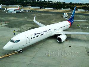 Penyerahan Boeing 737-900ER ke Sriwijaya Air