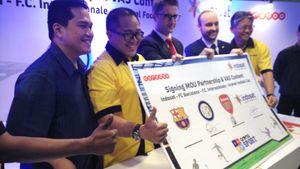Indosat Gaet Fans Barcelona, Inter Milan & Arsenal