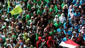 Pasar Saham yang Positif Bisa Terganggu Demo Buruh Besok