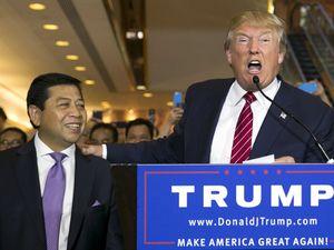 Setya Novanto dan Fadli Zon Bertemu Donald Trump