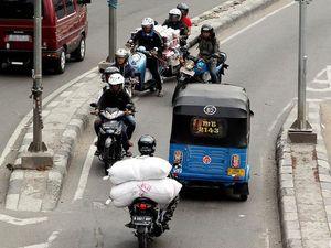 Ahok Minta Polisi Hukum Pemotor yang Lawan Arus