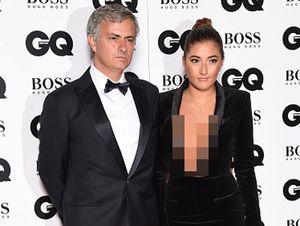 Seksinya Putri Jose Mourinho di GQ Men of The Year Awards