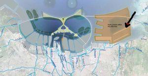 Ahok Ajak Pemerintah Pusat Lanjutkan Proyek Tanggul Garuda Raksasa