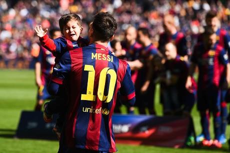Anak Kedua Messi Lahir