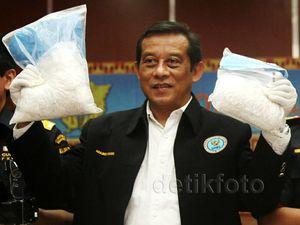 BNN dan Bea Cukai Gagalkan Penyelundupan 57 Kg Sabu