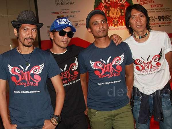 Slank Angkat Budaya Indonesia di Konser Tur