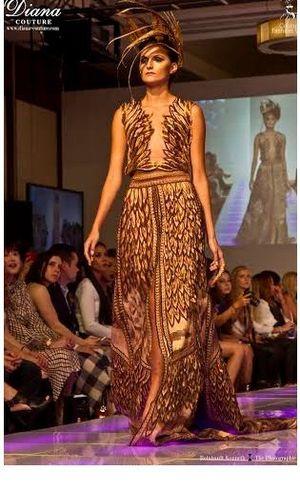 Tak Hanya Fashion Show, Diana Juga Promosikan Candi Borobudur di New York