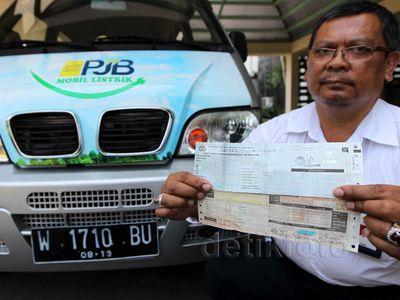 Mobil Listrik Pertama di Indonesia yang Miliki Pelat dan STNK