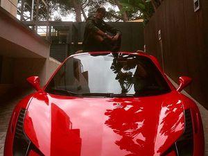 Ferrari 458 Spider, Buah dari Kerja Keras Neymar