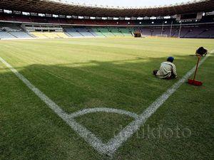 GBK Berbenah Jelang Final Piala Presiden
