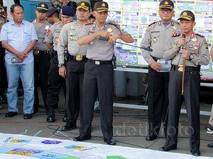 Kapolda Metro Pimpin Gladi Resik Pengamanan Final Piala Presiden