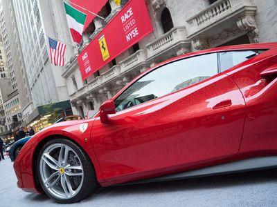 Ferrari Balapan di Bursa
