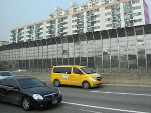 Agar Tak Bising, Jalan Tol di Korea Dilengkapi Dinding Peredam Suara