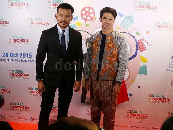 Rio Dewanto dan Reza Rahadian Meriahkan Pembukaan KIFF 2015
