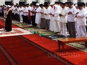 Masjid Istiqlal Gelar Salat Istisqa