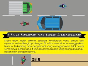 4 Fitur Kendaraan yang Sering Disalahgunakan