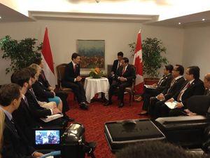 Jokowi Ingin Kanada Buka Lebar Pasar Produk Karet, Mebel, dan Kopi dari RI