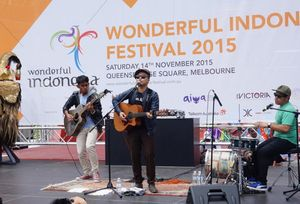 Kemeriahan Festival Wonderful Indonesia di Australia