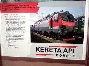 Jokowi Resmikan Jalur KA Hingga Technopark di Kaltim Senilai Rp 72 Triliun