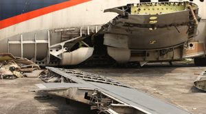 Belum Laku, Aset Pesawat Batavia Air Jadi Barang Rongsok