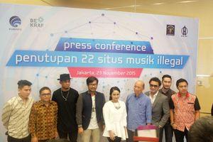 Gita Gutawa Sampai Arkarna Perangi Musik Bajakan di Indonesia