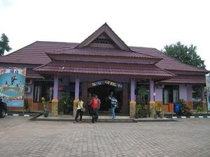Kebun Binatang? Bukan, Ini Kantor Disbudpar Belitung Timur