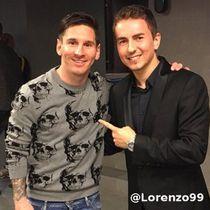Lorenzo soal Selfie di Camp Nou dan Sosok Messi yang Ia Simpan di Hati