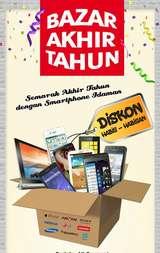 Carrefour Cuci Gudang! Smartphone Mulai dari Rp 200.000-an