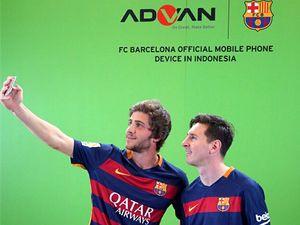 Ponsel 4G Lokal Advan Diluncurkan Messi