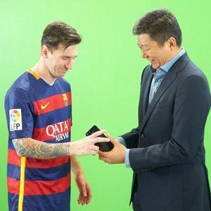 Ponsel 4G Lokal Advan Diluncurkan Lionel Messi