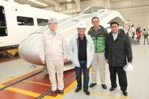 Menperin Saleh Husin Blusukan ke Pabrik Kereta Cepat China
