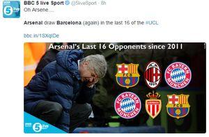 Jumpa Barcelona, Meme Candaan Soal Arsenal Bertebaran