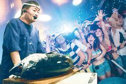 Di Marugo House akan Digelar Atraksi Pemotongan Tuna dan Makan Sashimi