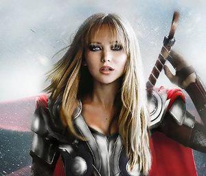 Jennifer Lawrence Jadi Thor, Kristen Stewart Jadi Loki