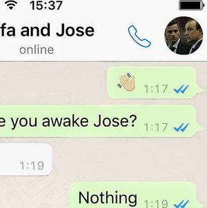 Kala Rafael Benitez & Jose Mourinho Curhat di WhatsApp