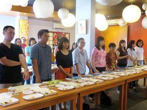 Serunya Bikin Sushi Dibimbing Langsung Sushi Chef Bertaraf Internasional