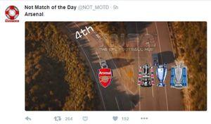 Tersingkir Lagi dari Liga Champions, Arsenal Jadi Bahan Meme