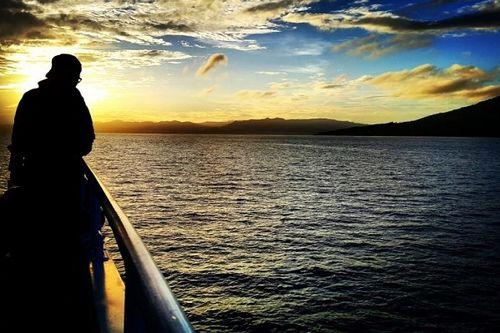 Sensasi Melihat Indahnya Ternate dari Kapal Bakamla