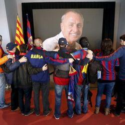 Penghormatan Terakhir untuk Cruyff di Camp Nou